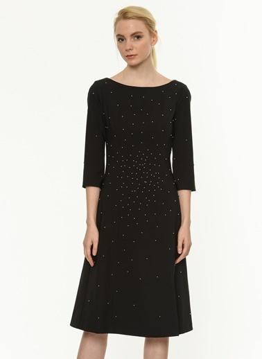 Truvakar Kol İşlemeli Elbise-Jus De Pommes